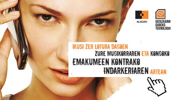 banner mujer congo euskera