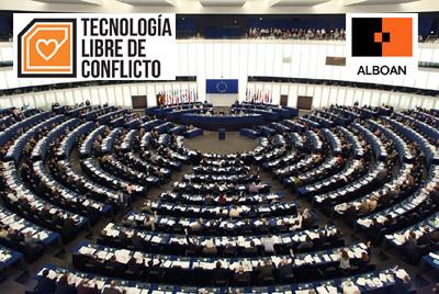 ALBOAN en el Parlamento europeo