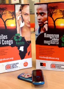 Móviles por el Congo