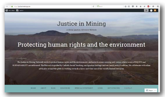 nueva web justicia y mineria
