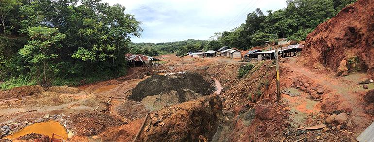 Mujeres Minería Oro Colombia - foto