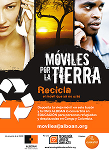 reciclar moviles viejos